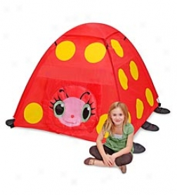 Mollie hTe Ladybug Tent
