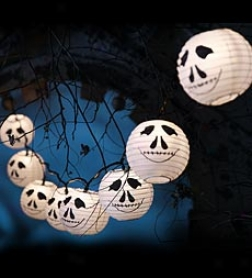 Mr. Bones Halloween String Lights