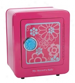 My Secret Steel Pink Safe With Alarm