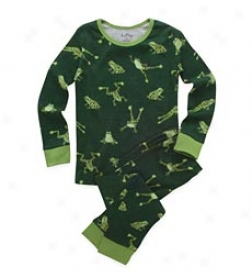 Northern Leopard Frog Pajamas