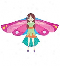 Nylon Fairy Kite