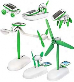 Owi Six-in-one Educational Solar Energy Model Kit