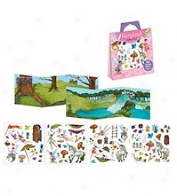 Peaceable Kngdom Fairyland Sticker Fun! Reusable Sticker Set