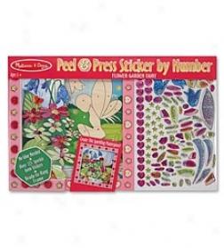 Peel & Bear heavily Sticker By Numbers Mosaic