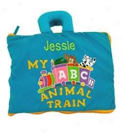 Personalized Abc Animal Train