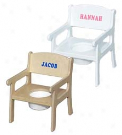 Personalized Child Potty Chair