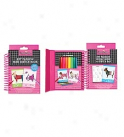 Pet Fashion Mini Sketch Book