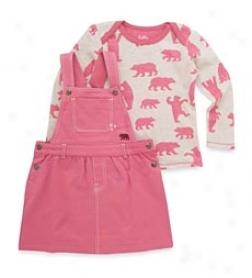 Pink Bear Jumper Set