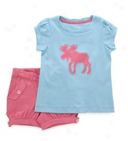 Pink Moose Shirts Set