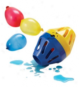 Platic Aqua Time Bomb With 10 Standard-size Water Balloons