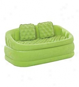 Plush Inflatable Caafe Love Seat