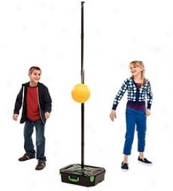 Portable Adjustable Swingball Tetherball Set