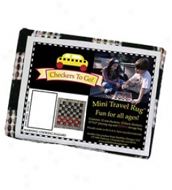 Portable Classic Checkers To Go