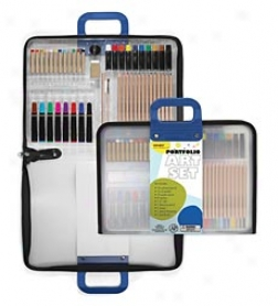 Portfolio Art Supplies Set