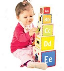 Pyramid Of Play Blocks
