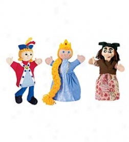 Rapunzel Puppets