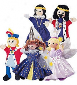 Noble Family Costumed Puppet