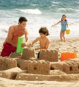 Sand Castle Kit With Forms And Tools
