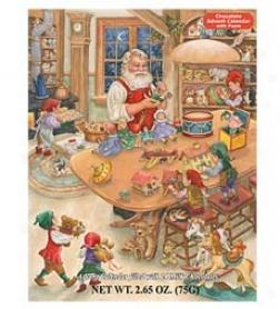 Santaa's Toy Shop Chocolate Advent Calendar