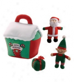 Santa's Workshop Play Set