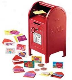 Itsy-bitsy Valentine Set With Mini Ree Mailbox Valentine Special