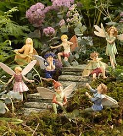 Set Of 4 Garden Prime Fairies