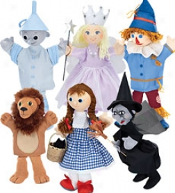 Handcrafted Wizard Of Oz Costumed Marionette
