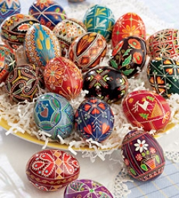 A Step-by-step Guide To Decorating Ukrainian Easter Eggs For Kids