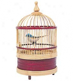 Singing Bird Cage Music Box