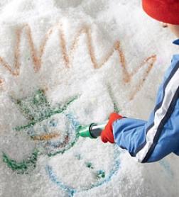 Sno-paints Tinted Powder Snow Art Set