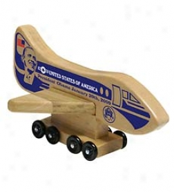 Solid Wooden Presidential Airplane