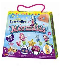 Sparkleups® Mermaids Repositionable Stickers Set