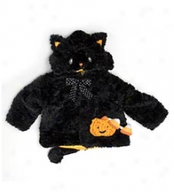 Spooky Boo-tique Black Cat Infant Coat By Gund