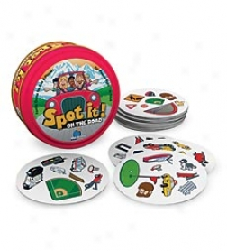 Spot It! On The Road Travel Card Game In A Tin