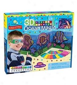 Sticky Mosaics® 3d Ocean Magic Kit