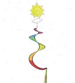 Sun Spiral Spinner