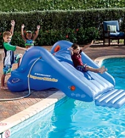 Superr Backyard Water Slide