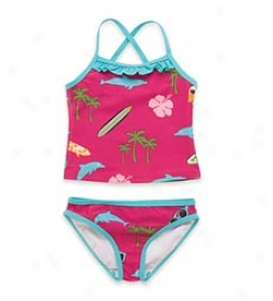 Surfer Girl Bathing Suit