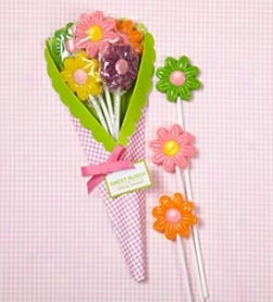 Sweet Bunch 5-piece Lollipop Flowe5 Bouqust