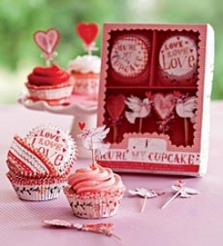 Sweet Valentine Cupcake Kit