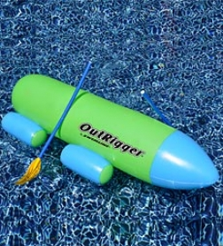 Swimline Outrigger Inflatsble Pool Row About