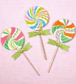 Swirly Whirly Lollipops Gift Pack, Set Of 3