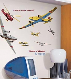 Take Flight Repositionable Wall Decals Mega Pack