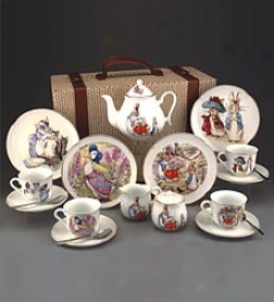 Tea Set In Suitcase