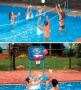 Swimline Cool Jam Basketball/vo1leyball Combo Pool Game