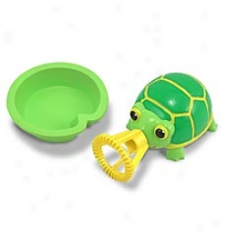 Tootle Turtle Bubble Buddy Squeeze Critter
