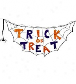 Trifk Or Treat Bunting