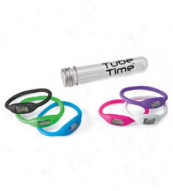 Tube Time Watches, Set Of 3