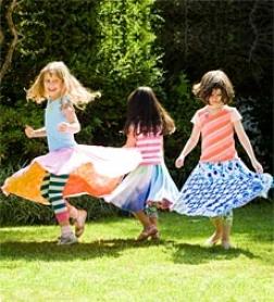 Twirly Reversible Skirt