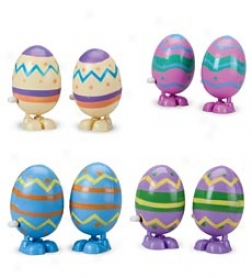 Wind-up Hopping Eggs